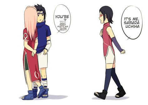 naruto dan hinata hot buat anak what would sarada be like if she met sasusaku in the past