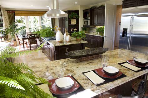 kitchen island area 39 fabulous eat in custom kitchen designs