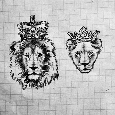 queen lion tattoo 30 matching tattoo ideas for couples queen tattoo lions