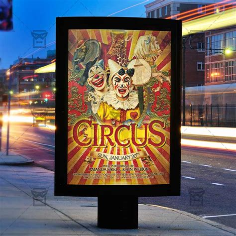 Circus Flyer Template by Circus Premium Flyer Template Exclsiveflyer Free And