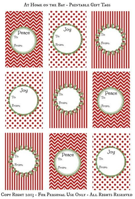 printable gift card tags 241 best christmas printables images on pinterest