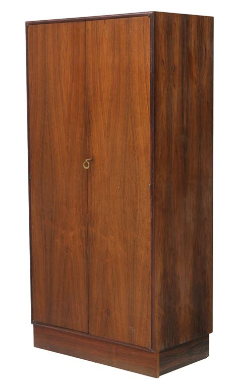 Rosewood Armoire by Italian Mid Century Modern Rosewood Armoire April