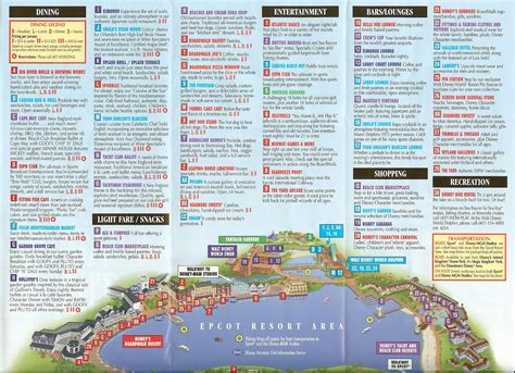 disney world orlando map with hotels walt disney world maps
