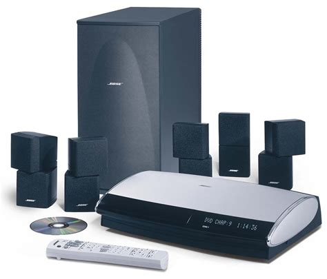bose lifestyle  black dvd home theater system