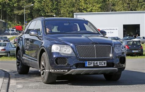 bentley camo bentley bentayga spied again almost free of camo