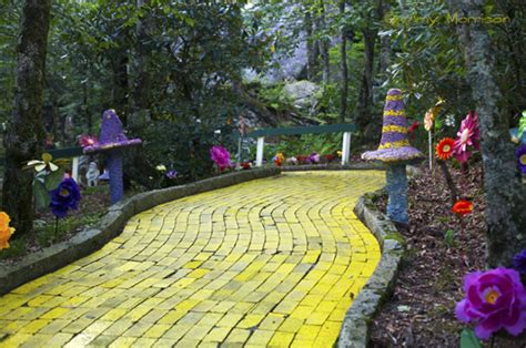 land of oz theme park 15 strange places in nc