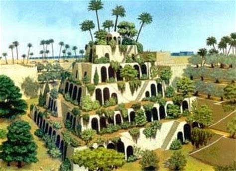 What Are The Hanging Gardens Of Babylon by Wonders Of The World The Hanging Gardens Of Babylon