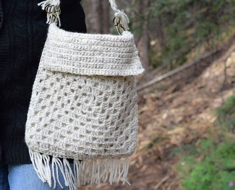 crochet pattern for boho bag boho fringe granny square crochet purse mama in a stitch