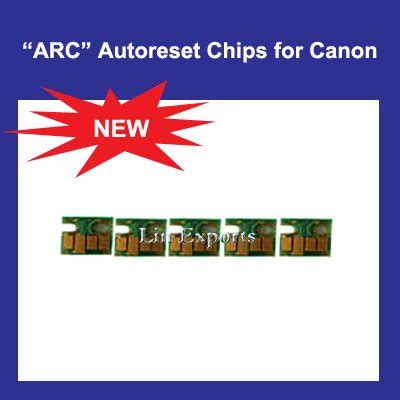 Chip Pisah Autoreset Canon Mg5170 1 Set auto reset chip for canon pgi 520pk cli 521 bk c m y arc chips free shipping worldwide