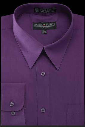 plum colored shirts daniel ellissa mens purple dress shirt ds3001