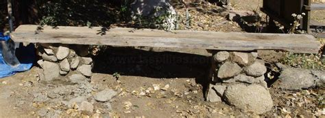 the rock benching how to build a simple easy garden bench or seat