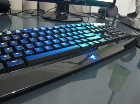 Keyboard Mechanical Black Widow Razer 2 weeks with the razer blackwidow mechanical keyboard