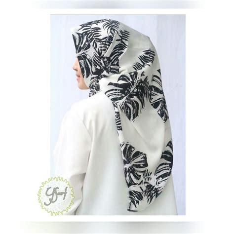 Promo Jilbab Motif Katun Silky 06 scarf murmer jilbab kerudung ibuhamil