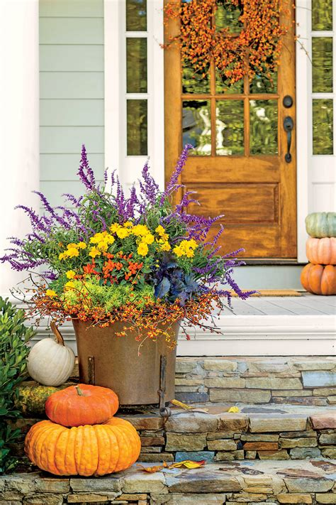 southern living container gardening fall container gardening ideas southern living