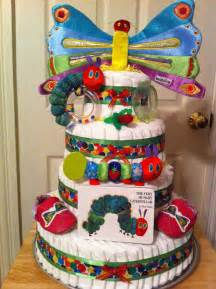 very hungry caterpillar diaper cake it s not a baby shower without a diaper cake popsugar moms