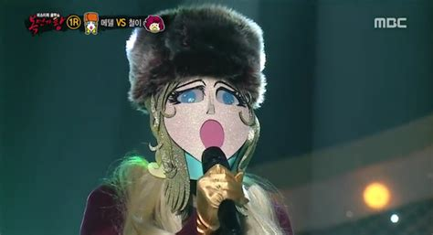 dramanice king of masked singer girl group member revealed to be contestant on king of