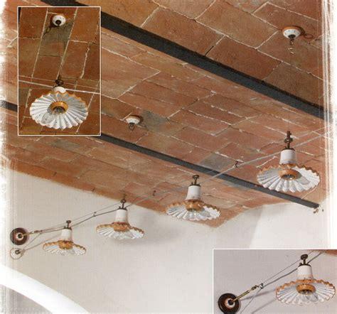 illuminazione su cavo soluzione per illuminare ambienti rustici illuminazione