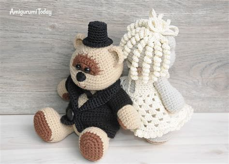 Wedding Amigurumi Pattern by Amigurumi Wedding Bears Crochet Pattern Amigurumi Today