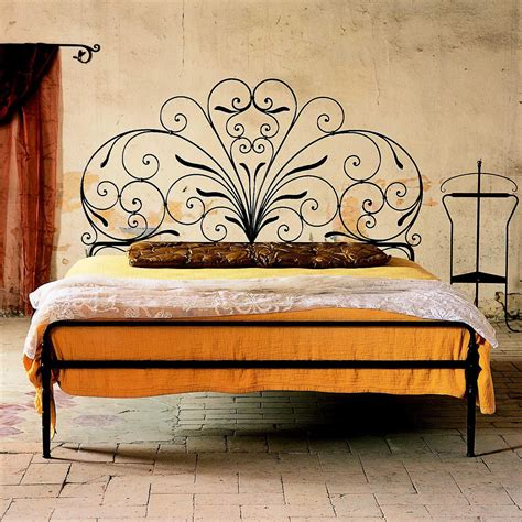 Tuscan Decorating Ideas Tuscan Beds Design Ideas Steel Bed Frame Designs