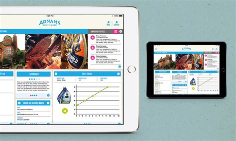 design app with ipad ipad app screen designs for adnams brewery design by