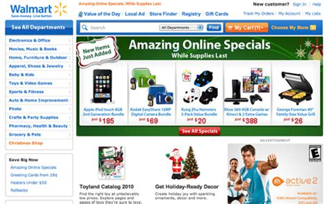Wallmart Ecommerce Mba Internship by E Commerce Home Page Focus Articles Baymard Institute