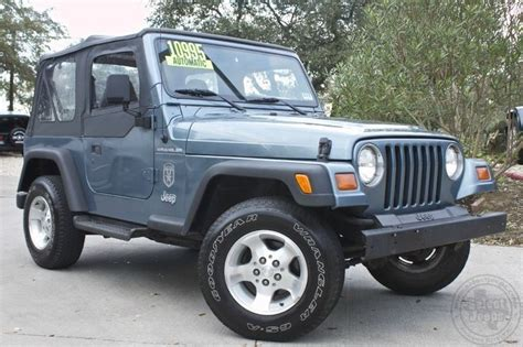 gunmetal blue jeep 1997 quot gun metal blue quot jeep wrangler se 10 995 only