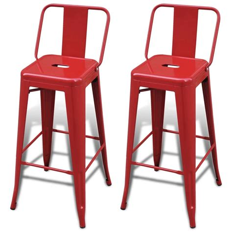 High Back Bar Stool Chairs by Vidaxl Co Uk Bar Chair High Chairs Bar Stools Square 2