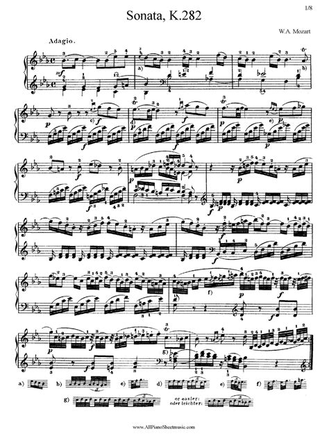 download mozart mp mozart sheet music free google search completed art