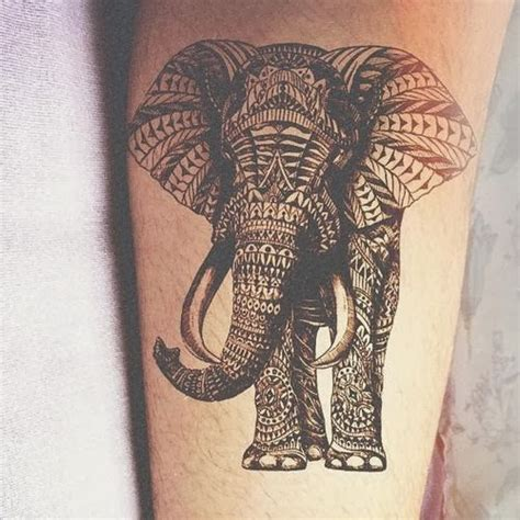 tribal elephant tattoo designs elephant design idea images photos memoir tattoos