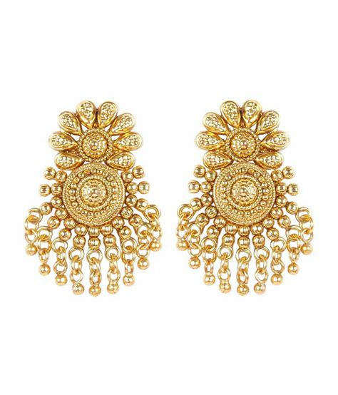 much more traditional south indian style gold plated
