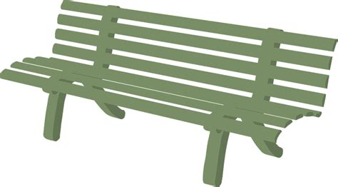 graphics bench free vector graphic bench garden furniture green