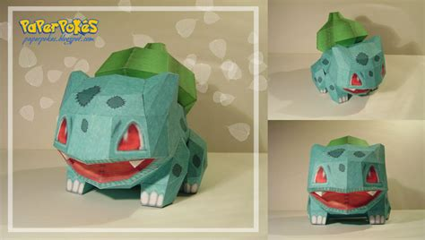 How To Make Origami Bulbasaur - bulbasaur doll papercraft by lyrin 83 on deviantart