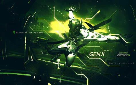 download film genji 4k ultra hd 16 10 offense hero genji shimada overwatch