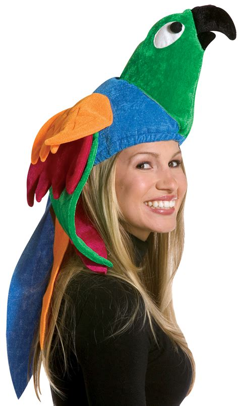 Hide Hair Horrors With A Myperennial Hat by Parrot Hat Animals Costumes 2018