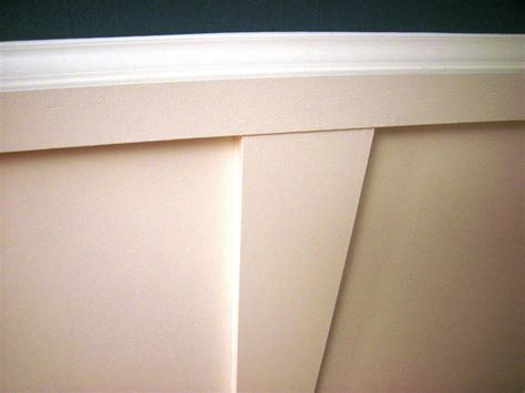 How To Put Up Wainscoting Panels How To Install Recessed Panel Wainscoting How Tos Diy