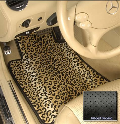 Leopard Car Floor Mats by Car Accessories Leopard Print Car Accessories