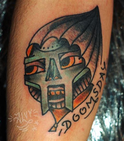 mf doom tattoo liam alvy ink mfdoom