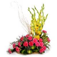 new year flower basket flower delivery in mumbai new year flowers to mumbai