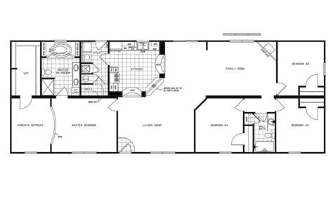 clayton home plans manufactured home floor plan 2010 clayton jamestown