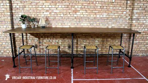 Vintage Industrial large vintage industrial table