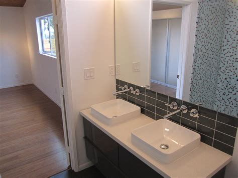 mid century modern bathrooms mid century modern house design green button homes