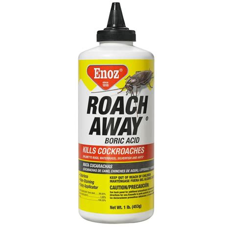 enoz 16 oz roach away powder boric acid r47 1 the home