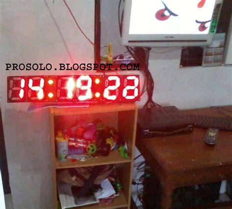 membuat jam digital seven segment membuat jam digital seven segment prosolo