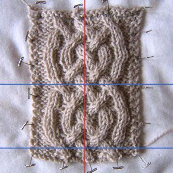 knitting pattern understanding see eunny knit technickety how to unvent a simple cable
