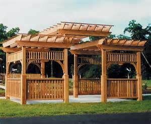Wood Pergola Designs And Plans by Pergolas Design