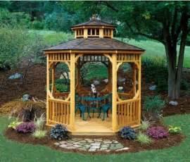 Home Design Lawn And Gazebo Beautifying House Garden Gazebo Beautiful Homes Design