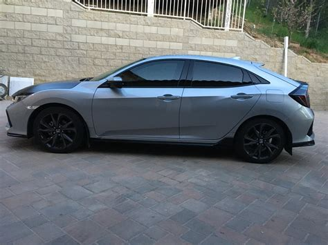 How To Paint A Front Door Without Removing It by My 2017 Hatchback Sport 6mt Lsm Wip 2016 Honda Civic