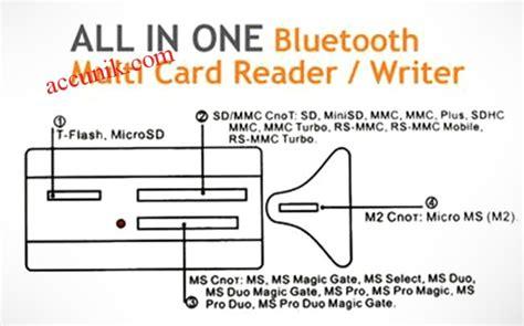 Cardreader Usb Murah jual murah card reader bluetooth adapter all in one