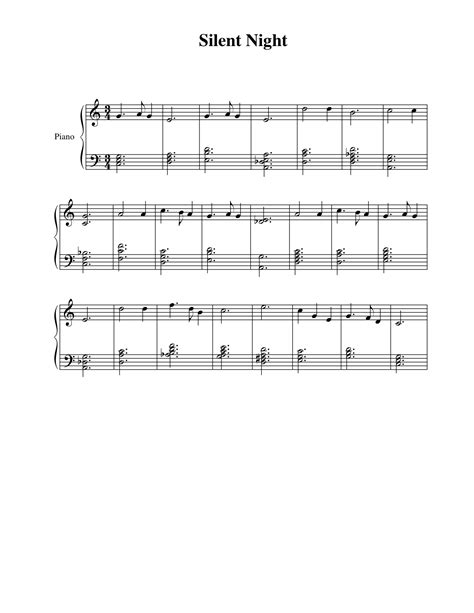 Silent Piano Letters