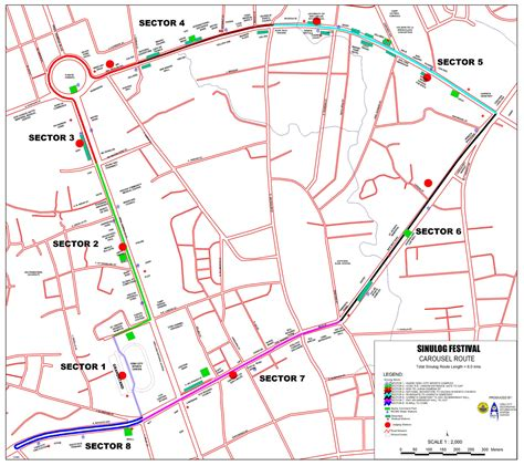 route of new year parade 2016 route sinulog festival live